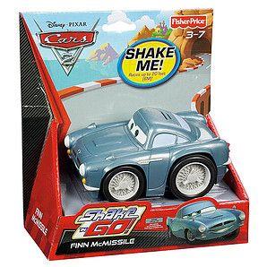 Cars 2 Shake 'N Go Finn McMissile