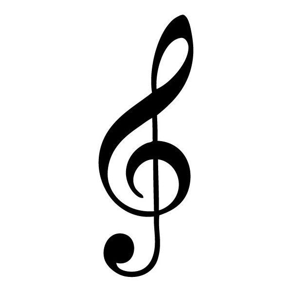 Notas Musicales Buscar Con Google Creative Treble Clef Tattoo