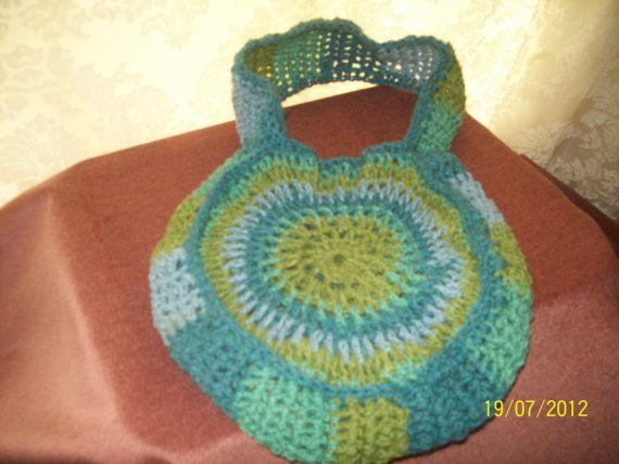 Crochet bag by gwynithclark on Etsy, $20.00