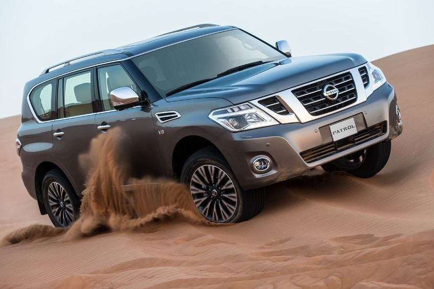 In the automotive market of our country appeared 2016 Nissan Patrol ...