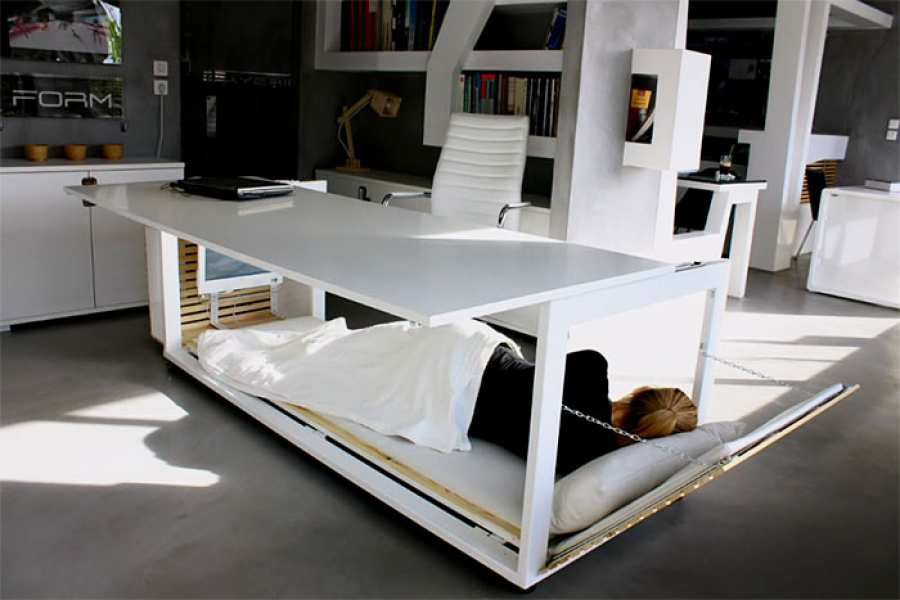 A Nap Desk Is Exactly What You Need To Be More Productive At Work Bed Desk Convertible Desk Desk Design
