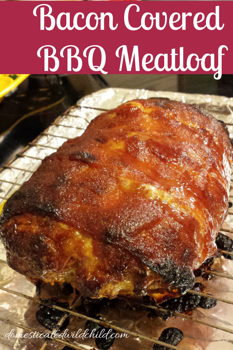 Bacon Covered BBQ Meatloaf -   13 bbq meatloaf recipes