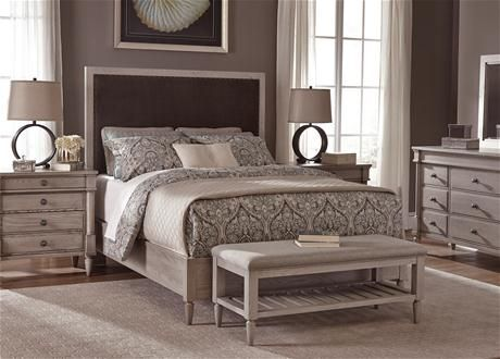 Pingl sur meubles de chambre coucher - Chambre a coucher moderne en bois massif ...