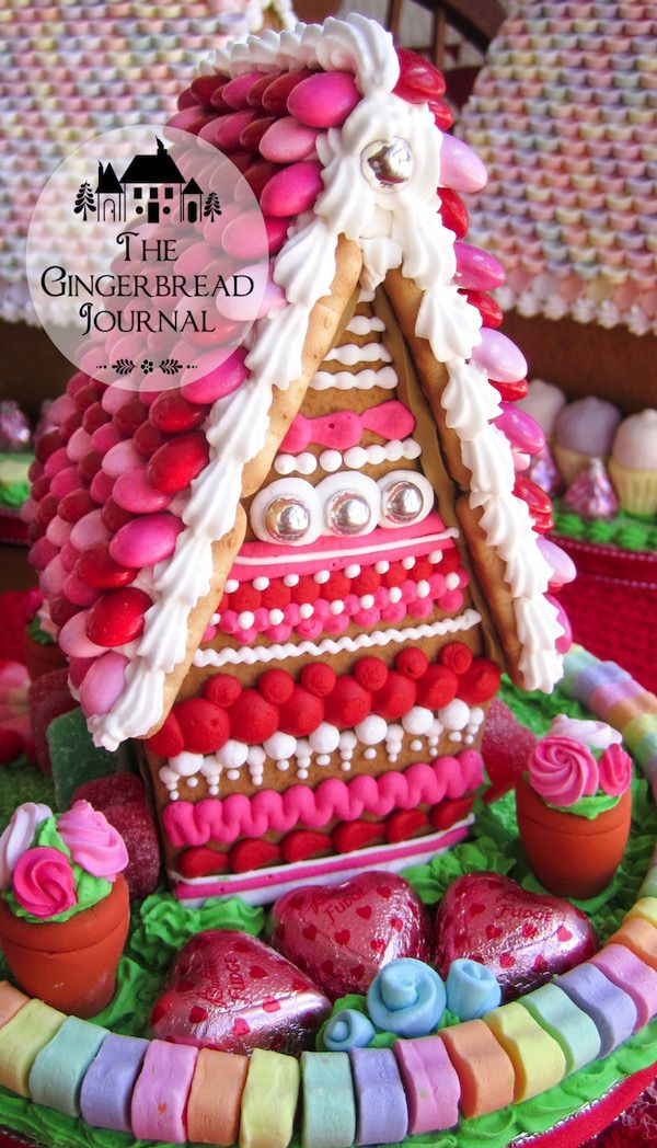 Valentines Day Gingerbread Houses A Collection Gingerbread
