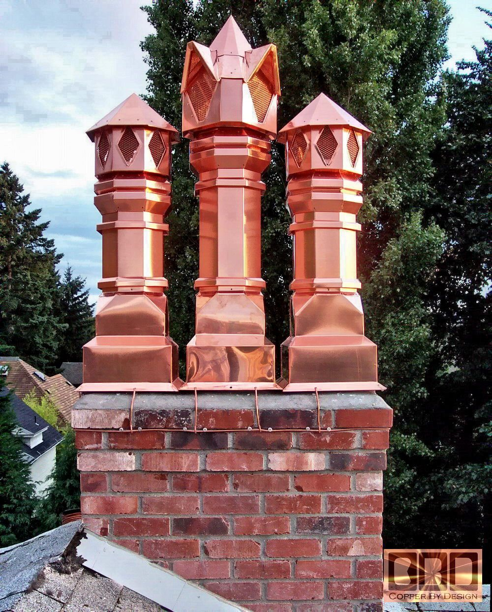 Copper Chimney Pots I M In Love Copper Decor