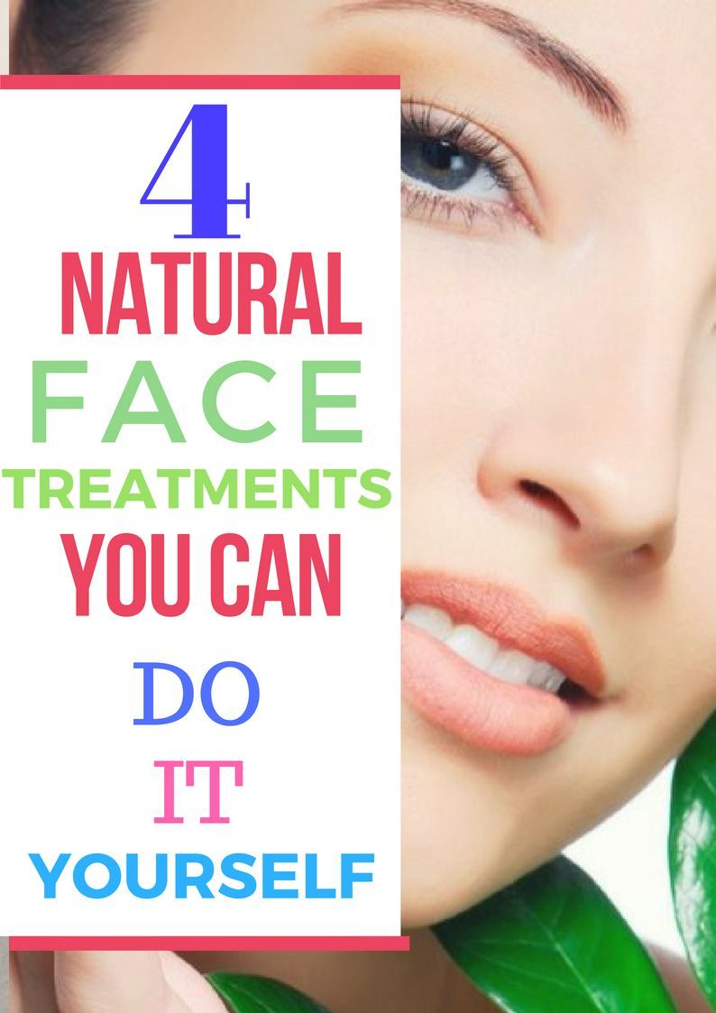 Natural facial treatment