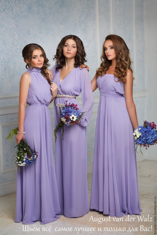 Купить Платье подружкам Невесты - платье подружек невесты, подружки ...