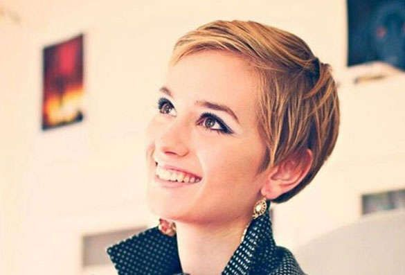 Pixie Cut For Thin Fine Straight Hair With Fringe Google Search