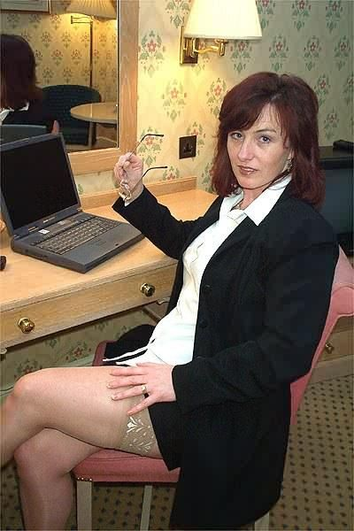 Business Mature In Stockings  Business Lady  Business -6933