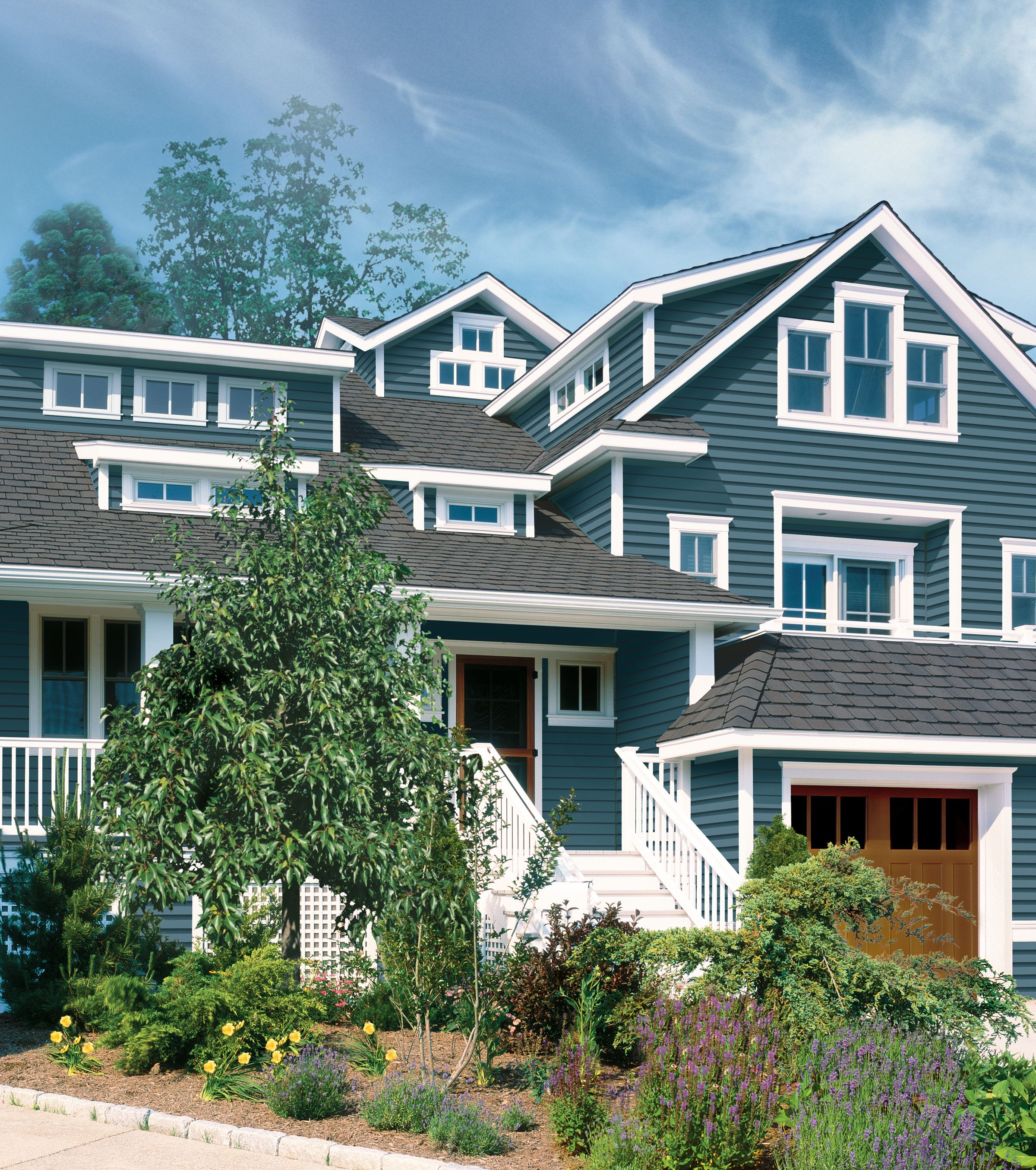 CertainTeed - Siding - Monogram - Pacific Blue | Siding ...