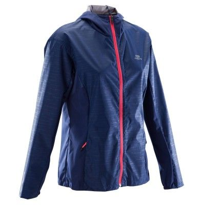 8fc660107ba0 Kalenji run rain women s jogging rain jacket diva blue in 2018 ...