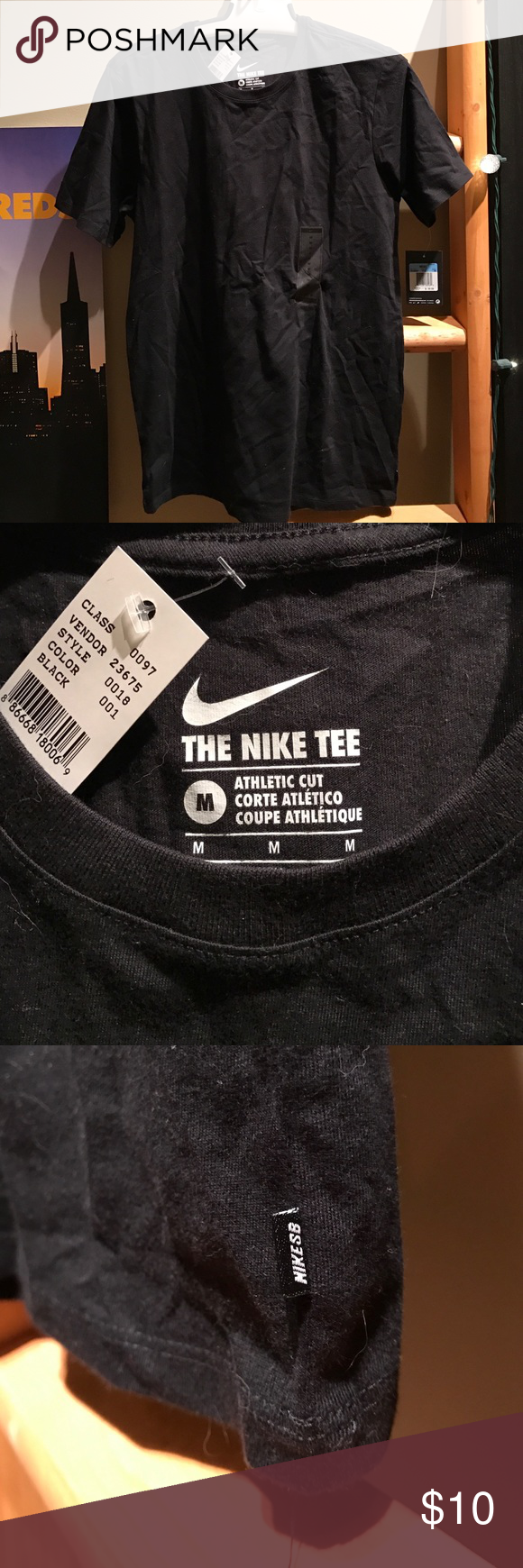 Nike SB Athletic Tee It's super basic. Can't get more basic. Overpriced plain ass Chinese made tee shirt. NEW WITH TAGS. UNISEX af. ‼️I ACCEPT REASONABLE OFFERS!!!😃 Nike Shirts Tees - Short Sleeve