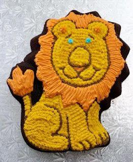 Birthday Cake Lion Birthday Cakes party Pinterest Lion
