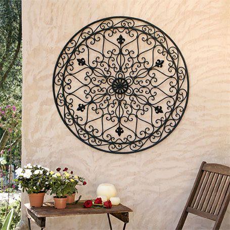 riesen wandornament colosso wanddeko ornamente traumgarten pinterest riesen wanddeko. Black Bedroom Furniture Sets. Home Design Ideas