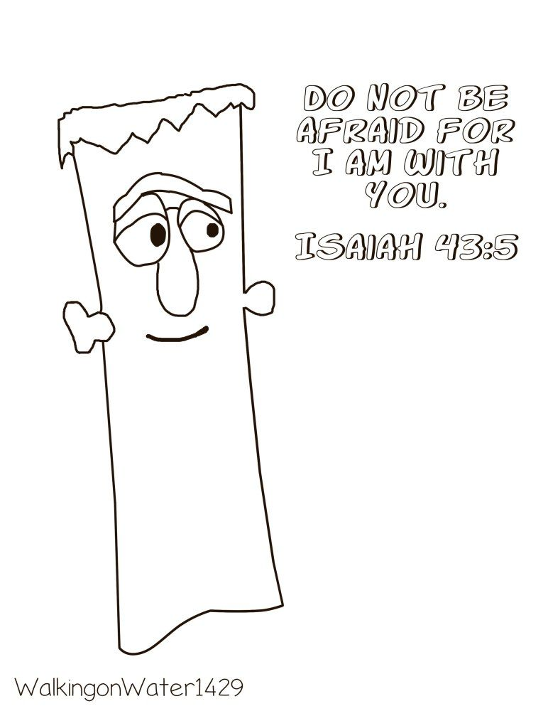 Frankencelery Coloring Page Coloring Pages Preschool Bible