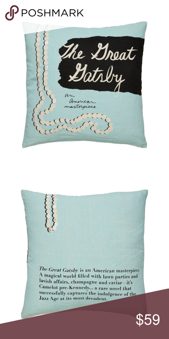 kate spade the great gatsby pillow case