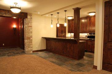 Lower Level Wet Bar Traditional Bat Milwaukee Regency Builders Inc