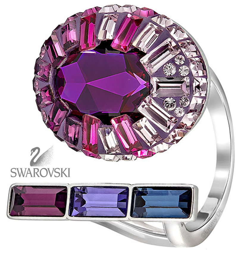Brilliant Luxury by Emmy DE ♦Swarovski Eminence Large Open Ring