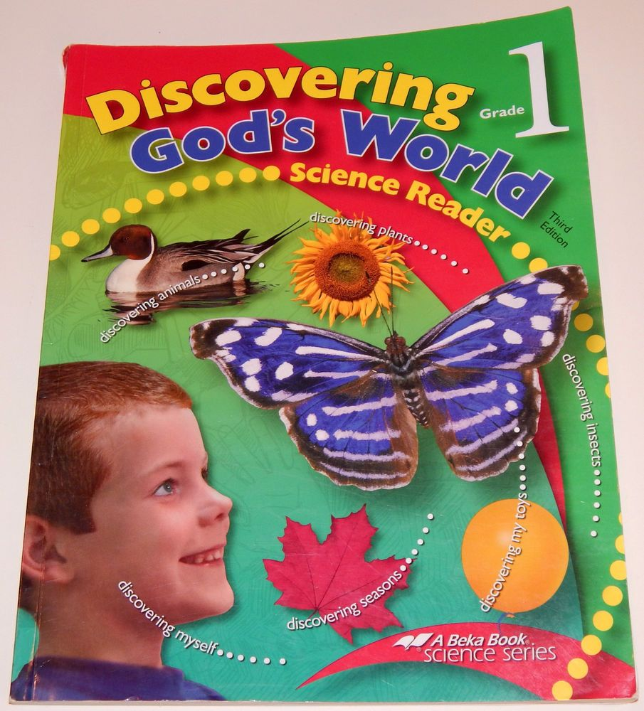 ABEKA Science Grade 1 Student Text Discovering God's World 3rd Edition  #Textbook