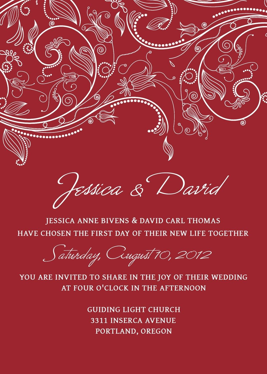 Wedding Invitation Ideas, Charming Wedding Invitations Templates ...
