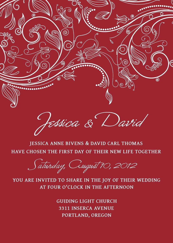 Wedding Invitation Ideas, Charming Wedding Invitations Templates ...