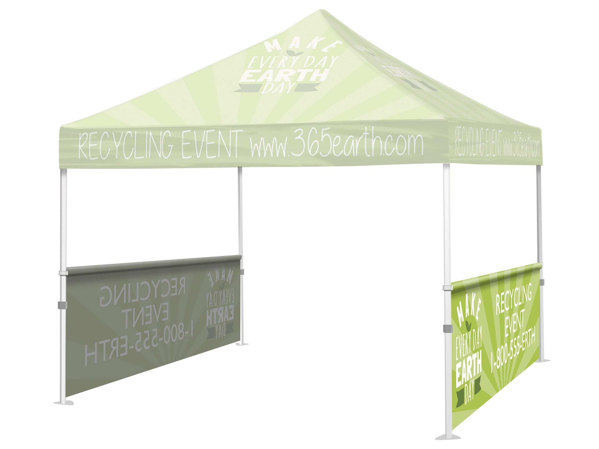 Tent Half Wall (Full Color / Custom)  sc 1 st  Pinterest & Tent Half Wall (Full Color / Custom) | Products | Pinterest ...