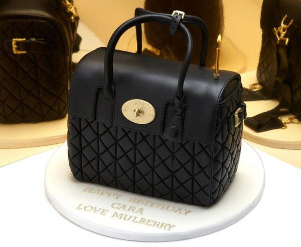Cake International  Purse Cakes Mulberry Got Cara Delevingne - Purse birthday cake ideas
