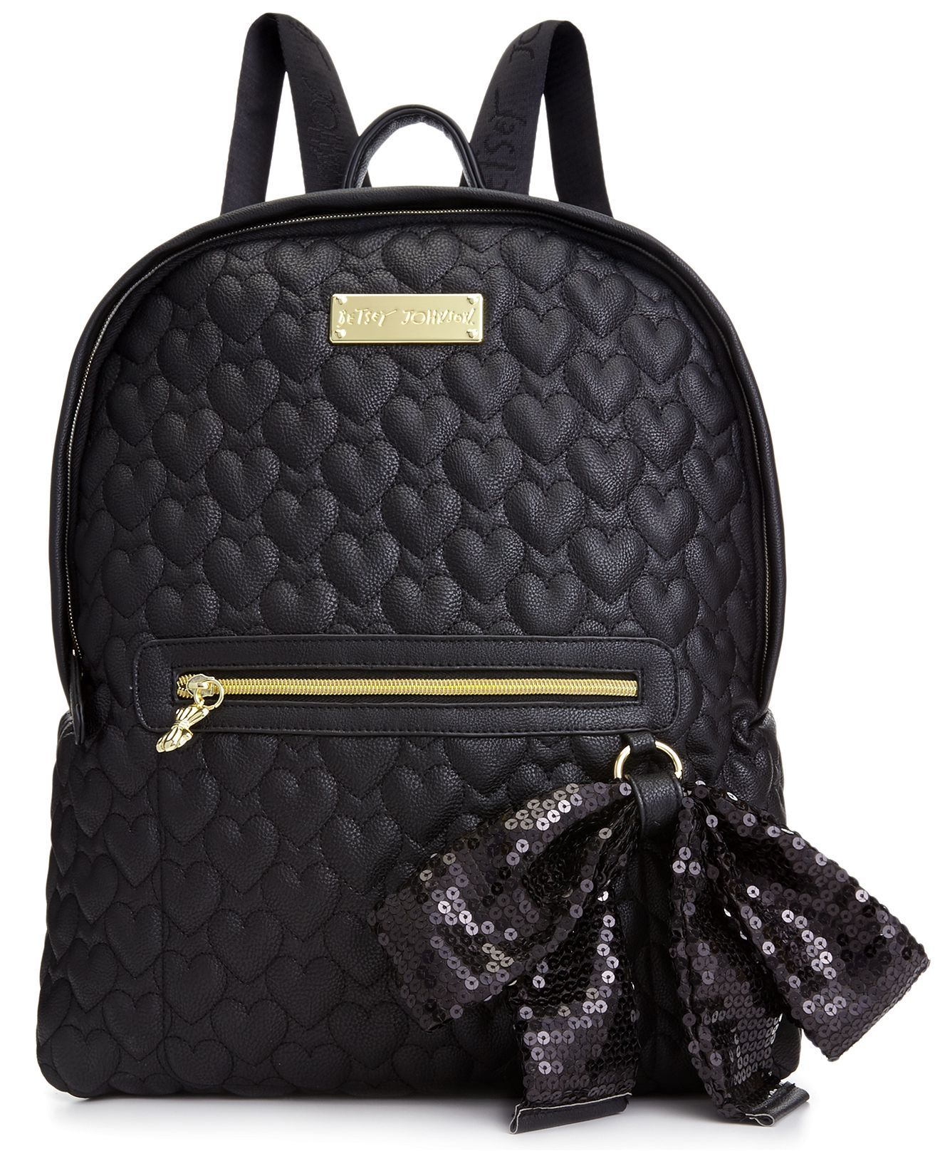 Macys baby hair accessories - Betsey Johnson Handbag Quilted Love Backpack Handbags Accessories Macy S