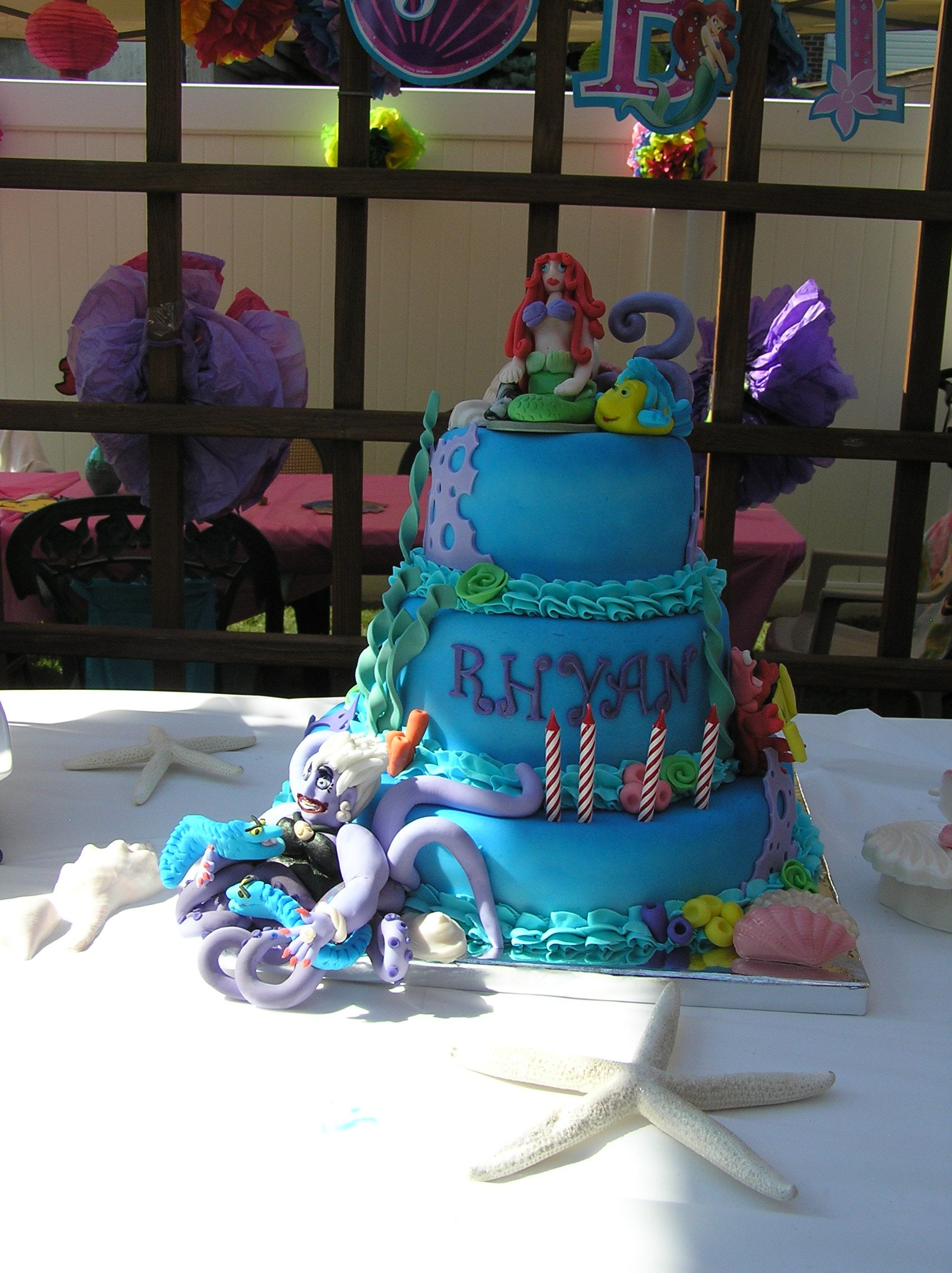 Ariel cake with images ariel cake cake ariel the