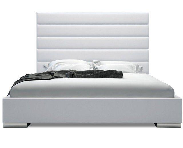 Fancy - Hazeltine Tufted Platform Bed WHITE | Images - furniture and ...