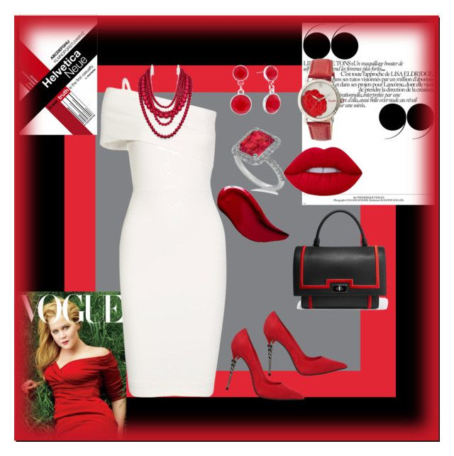 """""""Untitled #37"""" by cecephillips ❤ liked on Polyvore featuring Michelle Mason, Le Silla, Allurez, Bertha, BaubleBar, Liz Claiborne, Kat Von D, Lime Crime and Givenchy"""