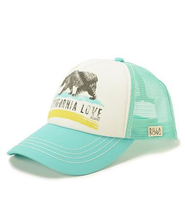 94d0e5cead7a6 Billabong Pitstop Cali Love Mint Trucker Hat at Zumiez   PDP ...