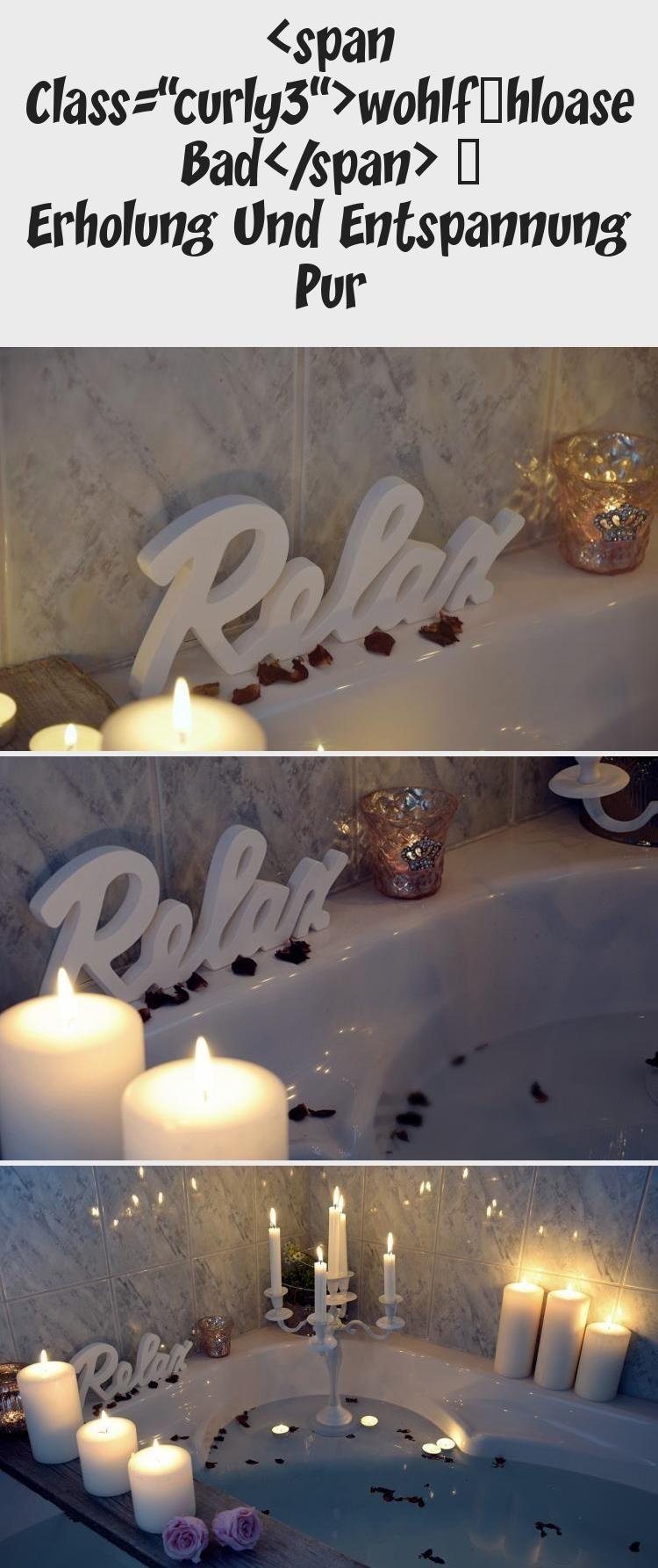 Erholung In Ihre Badezimmer Badezimmer Dekoration Romantische