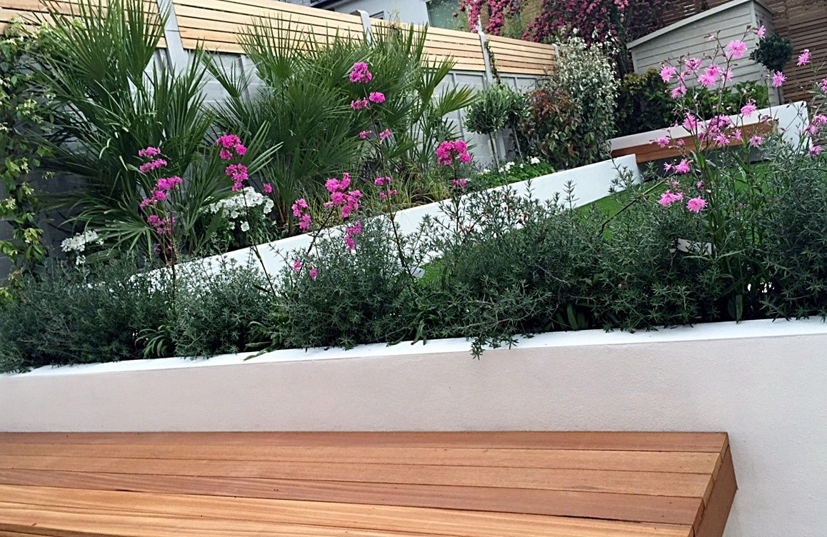 Attrayant Raised Beds Garden Company Planting Garden Design London Wandsworth Clapham