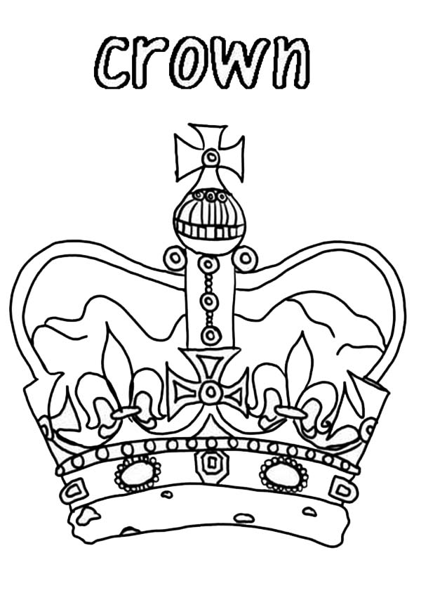 Princess Crown For Royal Family Coloring Page Netart In 2020 Family Coloring Pages Princess Coloring Pages Family Coloring