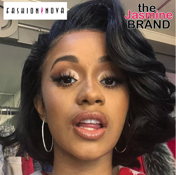 Cardi B Debuts Colorful New Butterfly Back Tattoo: EXCLUSIVE: Cardi B Prepping Her Own Collection W/ Fashion