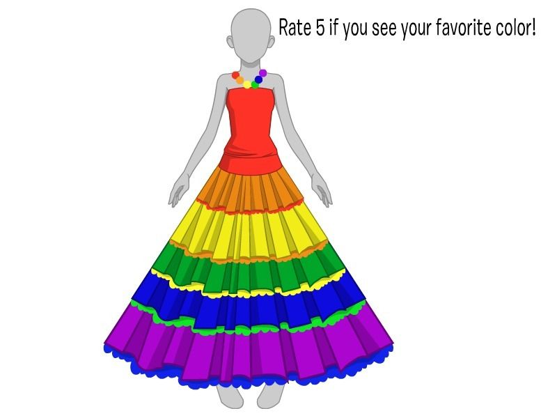 Disney Com Create Rainbow Dress Artwonder42 Rainbow Dress Rainbow Fashion Disney Games