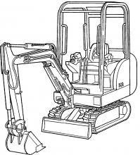 Bobcat 320-320L-322-X320-X322 Excavadoras Servicio de