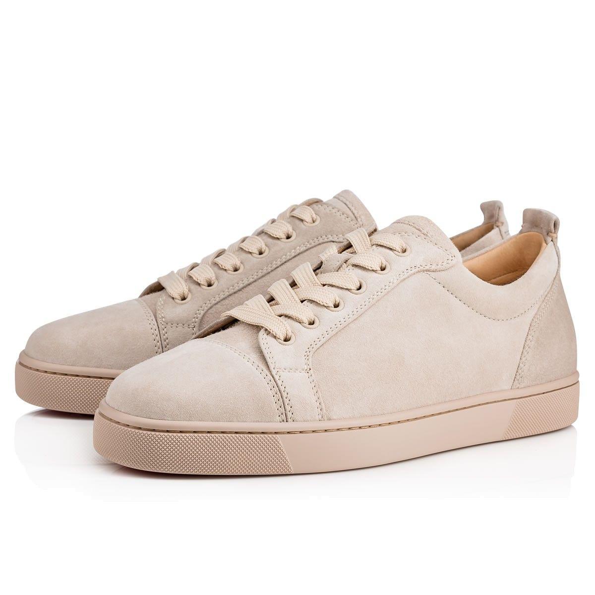 987f4e8dde8d CHRISTIAN LOUBOUTIN Louis Junior Men S Flat Colombe Suede - Men Shoes - Christian  Louboutin.  christianlouboutin  shoes
