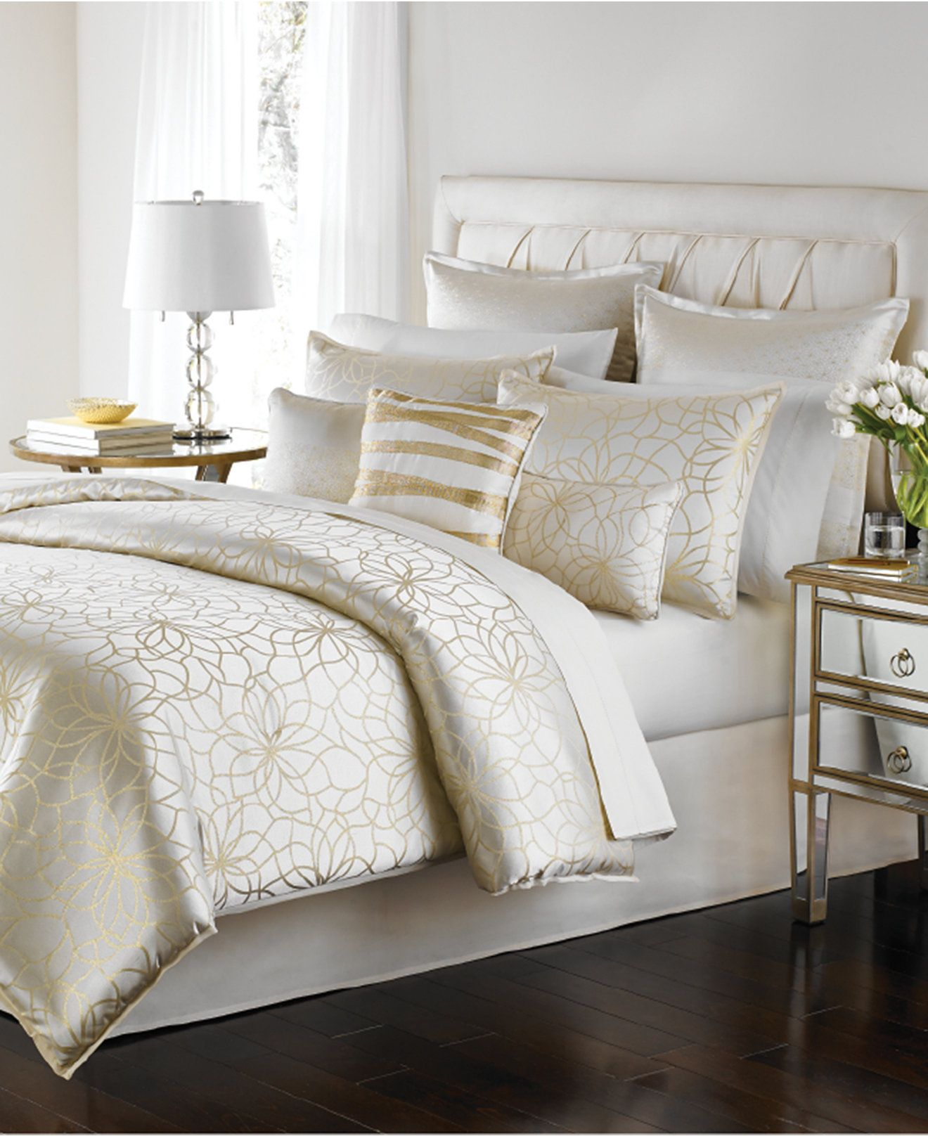 Martha Stewart Collection Radiant Day 9-Pc. Comforter Set ...