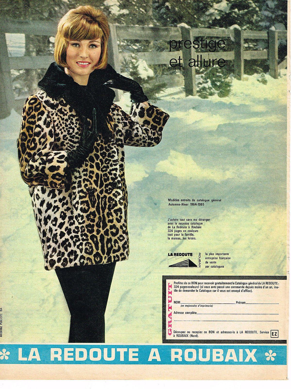 Publicite Advertising 044 1961 LA Redoute À Roubaix | eBay