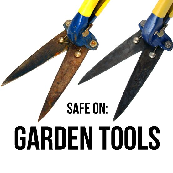 How To Remove Rust Easy From Tools Using Metal Rescue