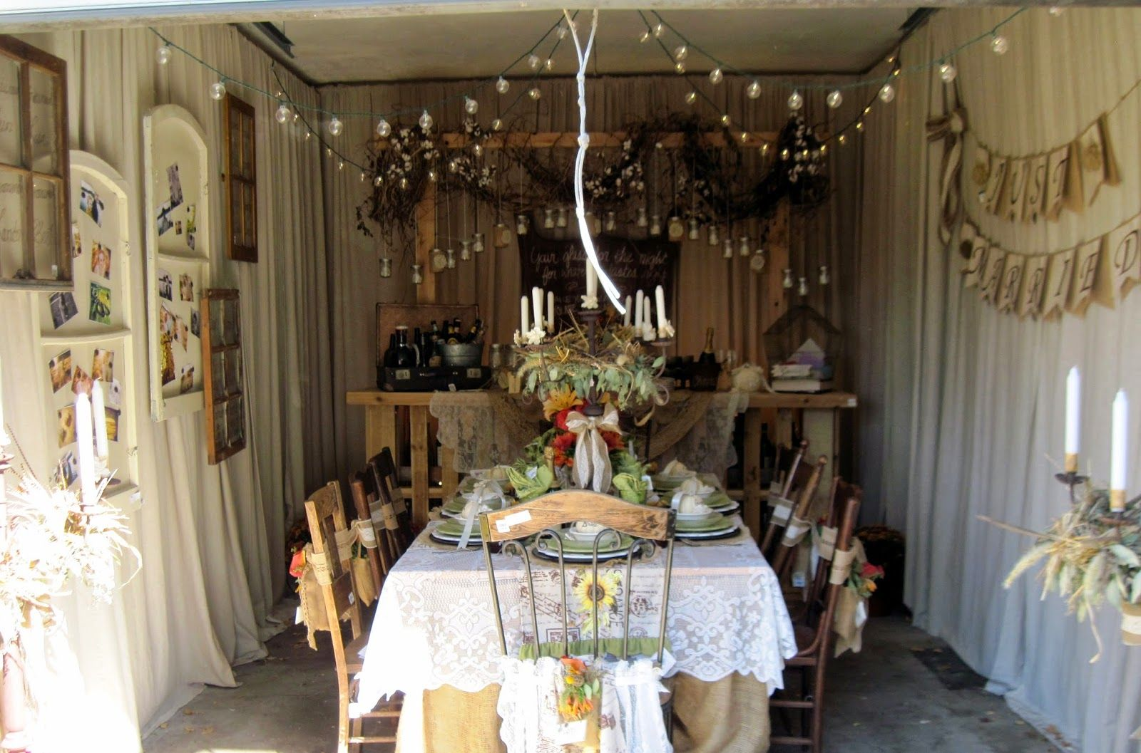 Fall Wedding Dreams Reception Garage Garages Receptions Carriage House