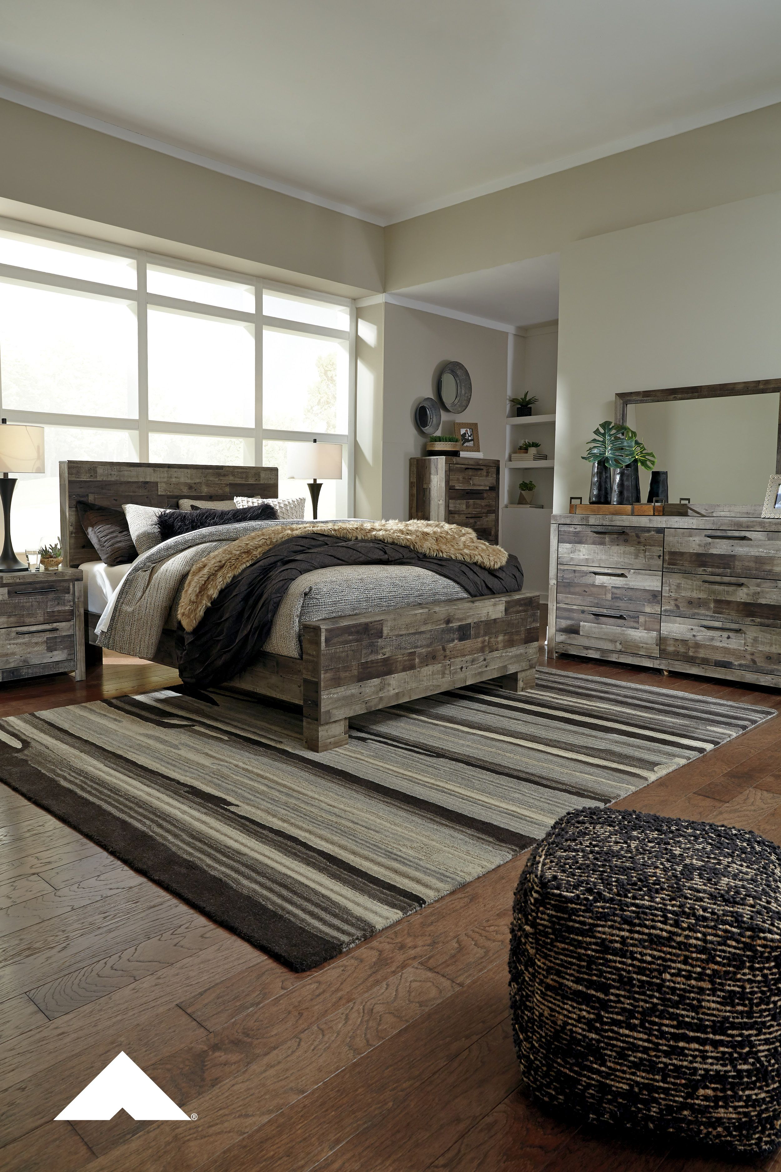 Derekson Rustic Bedroom By Ashley Furniture Bedroom
