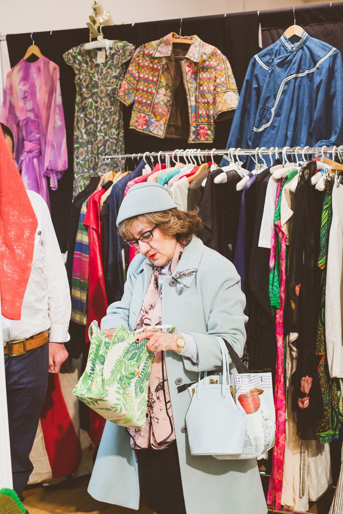 The Diary: Manhattan Vintage Show More