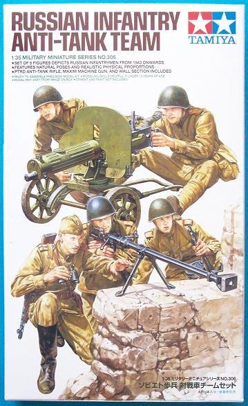 Tamiya Models Russian Infantry Anti-Tank Team