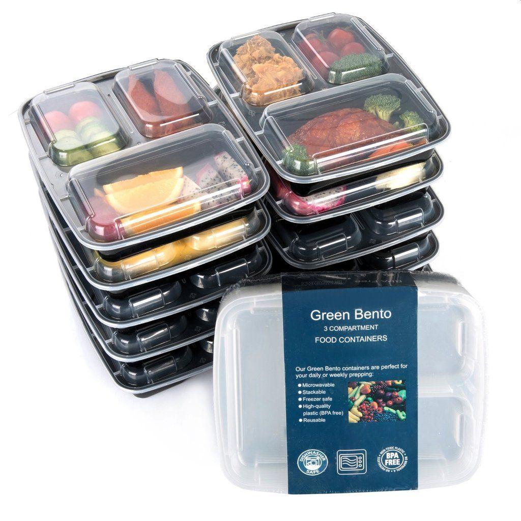 Microwavable Reusable Dishwasher & Freezer Safe Healthy