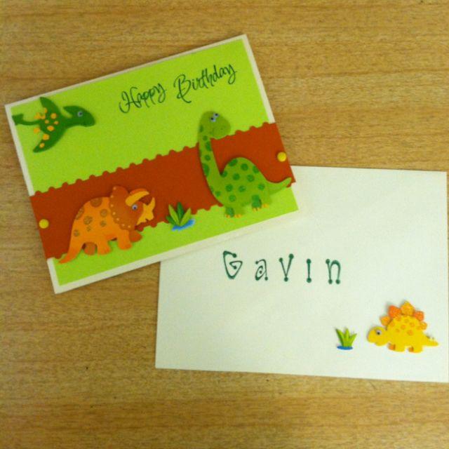 Birthday Card And Envelope