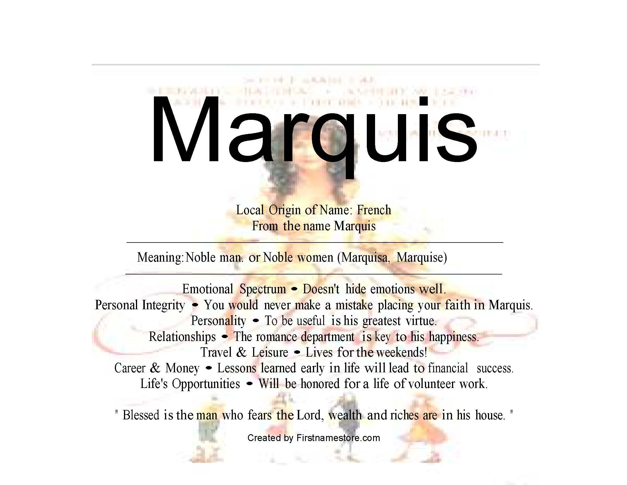 Baby name meaning of marquis for my kids pinterest marquis baby name meaning of marquis 1betcityfo Images