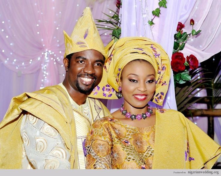 Nigerian Wedding Colors